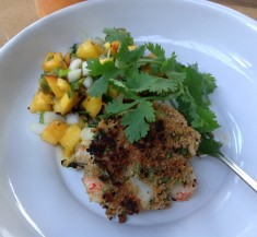 Hatch Chile Crab Cakes and Salsa