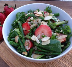 Springtime Strawberry Couscous Salad