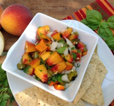Hatch Peach Salsa