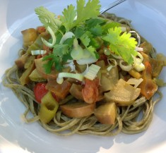 Thai Chicken Curry Noodles