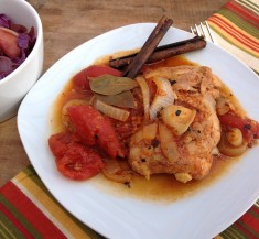 One-Pot Braised Chicken with Tomatoes