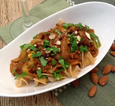 Lamb Curry with Apricots and Almonds