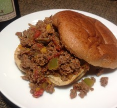 Fire-Roasted Sloppy Joes