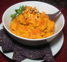 Thai Inspired Autumn Hummus