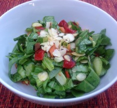 Bok Choy Salad with Sesame Soy Dressing