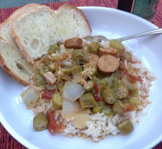 Gumbo with Chicken & Sausage