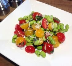 Edamame Tomato Basil Salad