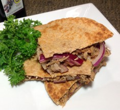 Pork and Balsamic Onion Quesadillas