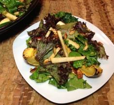 Acorn Squash and Apple Salad