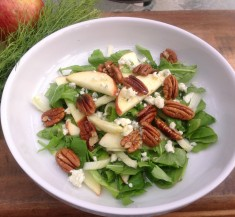 Fennel and Apple Salad with Blue Cheese