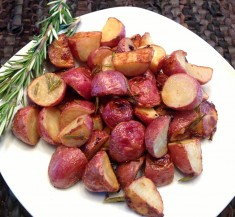 Honey Dijon Roasted Potatoes with Rosemary