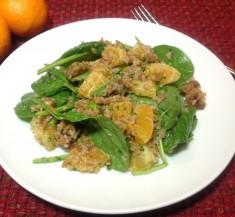 Moroccan Salad with Cilantro Orange Dressing