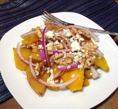 Roasted Beets with Walnuts and Gorgonzola