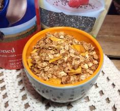 Chia Coconut Mango Granola