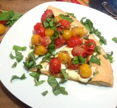 Cherry Tomato Margherita Pizza
