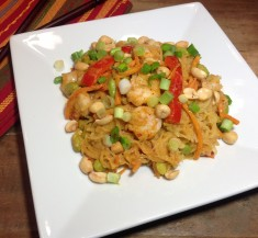 Thai Shrimp Curry with Spaghetti Squash