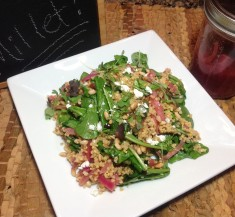 Toasted Millet Salad with Pickled Onions