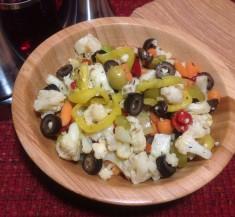 Muffaletta-Inspired Vegetable Salad