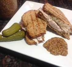 Turkey Reuben with Stone Ground Mustard