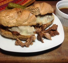 Brisket French Dip Sandwiches