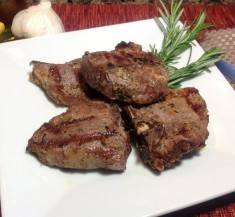 Garlic, Lemon and Rosemary Lamb Chops