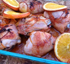 Roasted Spicy Orange Chicken