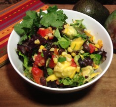 Mexican Salad with Cilantro Honey Lime Vinaigrette