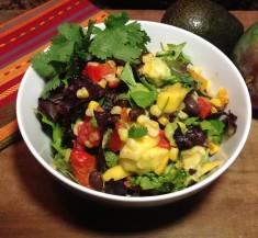Mexican Salad with Cilantro Honey Lime Vinaigrette