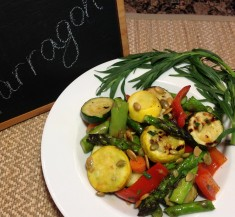 Grilled Vegetables with Fresh Tarragon Dressing