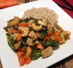 Cashew Chicken Bok Choy