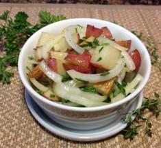 Roasted Potato Salad with Tarragon Dressing