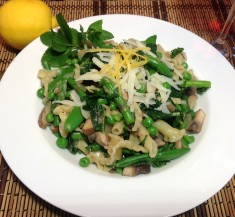 Pasta with Mint, Lemon and Spring Peas