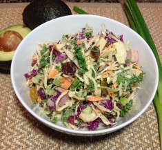 Rainbow Vegetable Slaw