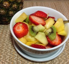 Tropical Spiced Fruit Salad