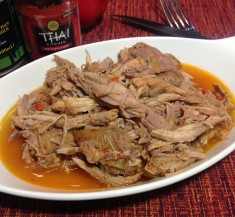 Slow Cooker Thai Inspired Pulled Pork