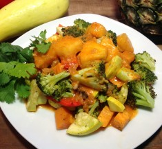 Thai Curry Roasted Veggies