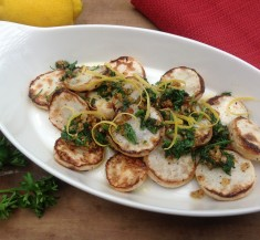 Grilled Turnips