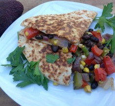 Spicy Veggie Quesadilla