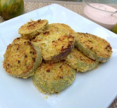 Healthi-Fried Green Tomatoes