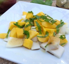 Kohlrabi and Mango Salad