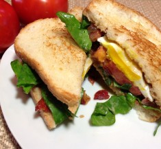 EBLT with Balsamic Mayo