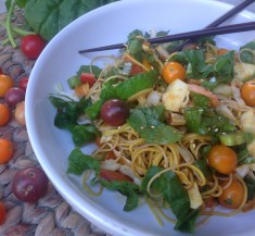 Asian Veggie Noodle Salad