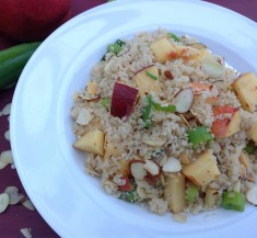 Couscous with Nectarines and Toasted Almonds