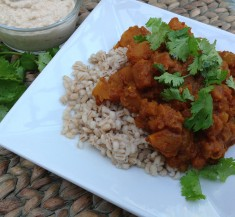 Spiced Middle Eastern Butternut Squash