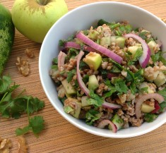 Tabbouleh with Apples and Walnuts