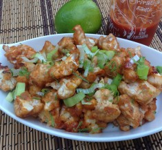 Honey Lime Sriracha Cauliflower