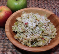 Cabbage Apple and Pear Salad