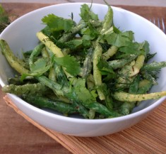 Green Bean Salad with Herb Dressing