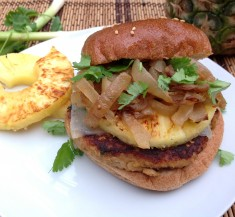Chicken Teriyaki Burger