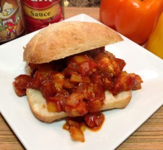 White Fish Sloppy Joes